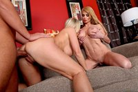 mature threesome devon lee taylor wane tits milf mature threesome blonde fucking