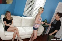 mature threesome group all american blonde teen media previews pics