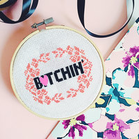 naughty mature fullxfull listing btchin completed modern cross stitch