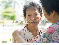 outdoor mature zooms fed candid shot mature woman consoling crying old mother outdoor ewb stock photo elderly daughter