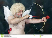 red mature hairy mature cupid fat bearded hairy bow heart arrow photos red