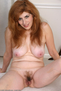 red mature hairy wives nadine spreads pussy hairy milf porn pics