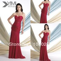 red mature wsphoto yimi style sweetheart off shouder chiffon font red mature cheap