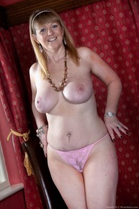 red milf mature hairy sophieuk longdress sophie mature milf large natural tits