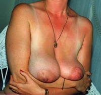 red milf mature hairy tattoos hairy pussy bush tan lines saggy