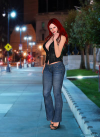 redhead mature pre another redhead alucards spirit morelikethis artists digitalart