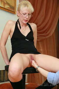 shaved mature mature porn marcella shaved fisted photo