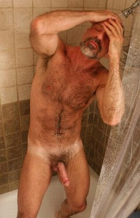 shower mature shower mature nice hot get day going