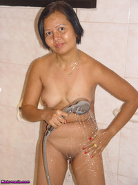 shower mature mature asian shower