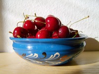 sweet mature static photo red cherry sweet mature fruit