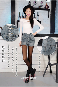 thin mature htb hfxxxxx xpxxq xxfxxxt sperry dongkuan elastic waist denim shorts female korean version spring alx