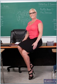 tits heels mature pics pictures lusty mature teacher amber irons showing tits high heels