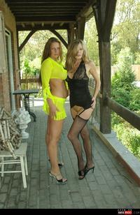 tits heels mature wmimg bottomless duo heels hotmichelle hotwife mature outdoor spermalina tits out topless